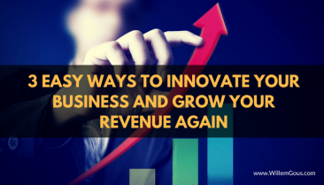 3 Easy ways to innovate your business and grow your revenue again