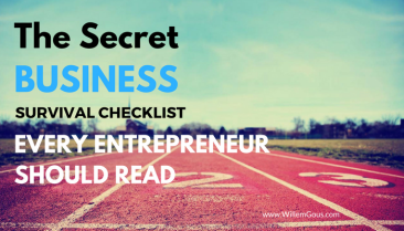 The secret business survival checklist every entrepreneur should read