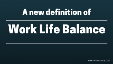 A new definition of work life balance that inspires a life of meaningful success