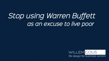 Stop using Warren Buffett as an excuse to live poor