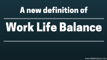 A new definition of work-life balance