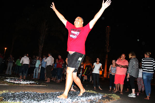 Firewalking with Willem Gous