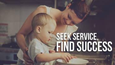 Seek service, find success