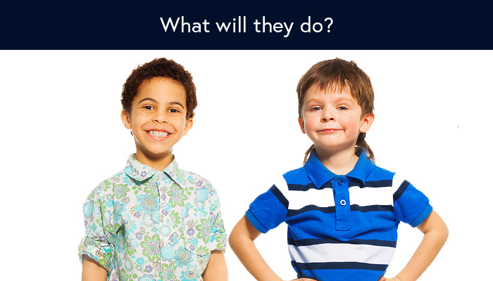 I overheard two 7-year old boys discuss their future careers. Isn't this the right way to do career planning?