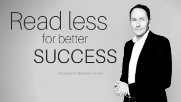 Read less for better success